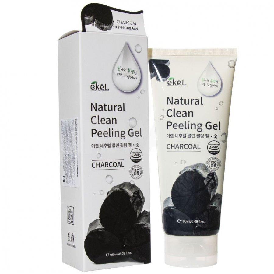 Пилинг-гель для лица Ekel Peeling Gel Charcoal Древесный уголь (180 мл)