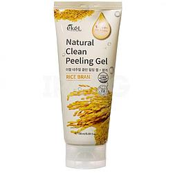 Пилинг-гель для лица Ekel Peeling Gel Rice Bran Рисовые отруби (180 мл)