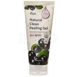 Пилинг-скатка с экстрактом ягод асаи Ekel Acai Berry Natural Clean Peeling Gel