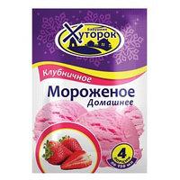 Бабушкин хуторок мороженое Клубничное, 65 гр