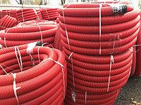 Труба гофрированная полиэтиленовая Ø50 (в бухтах до 250 п/м)
