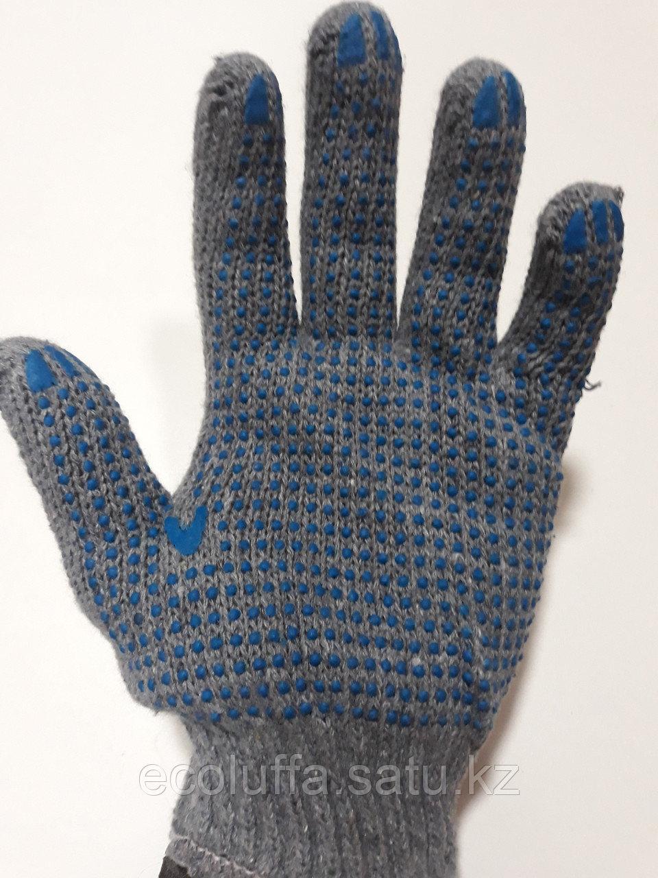 Перчатки ХБ с ПВХ 67 гр