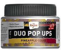Бойлы насадочные двухцветные CZ Duo Pop Ups, 12&16mm, 65g, рубиново красный- черный перец (65г, рубиново