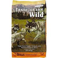TOW09 Taste of the Wild, сухой корм для щенков с мясом бизона и оленины, 12.7кг