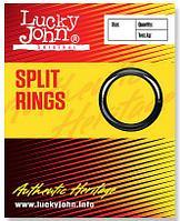 Кольцо заводное Lucky John Split Rings (0000)