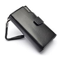 Мужское портмоне клатч кошелёк для купюр и банковских карт Baellerry Business оптом