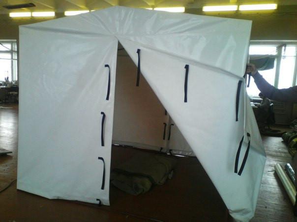 Палатка сварщика ПВХ Г1 2х2м