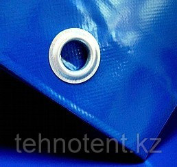 Полог из ПВХ материала 10 х 10 м, с люверсами  650 г/м2