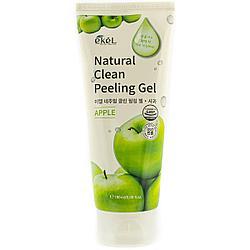 Очищающий пилинг-скатка с экстрактом зеленого яблока Apple Natural Clean Peeling Gel, Ekel 180 мл