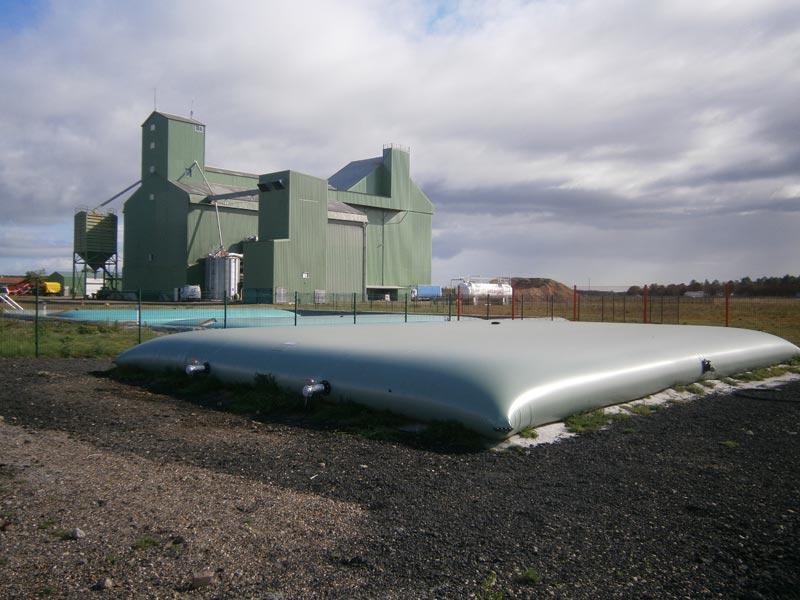 Мягкий резервуар ПВХ 17 м3