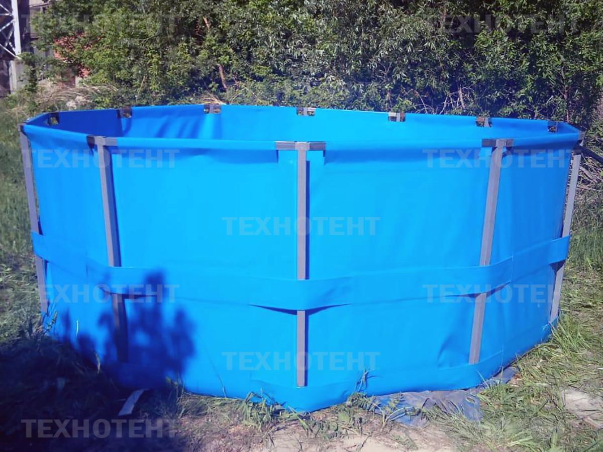 Каркасный бассейн, объем 15 м3