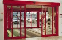 Автоматические двери (фотоэлемент)