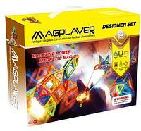 MagPlayer Детский магнитный конструктор 83 элемента деталей