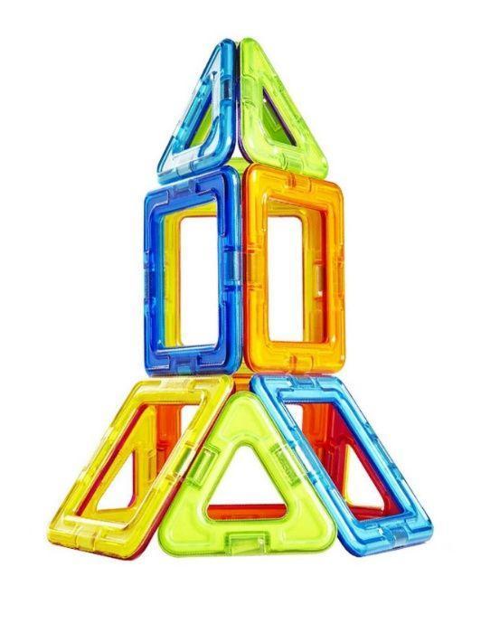 MagPlayer Детский магнитный конструктор 20 элементов деталей - фото 2