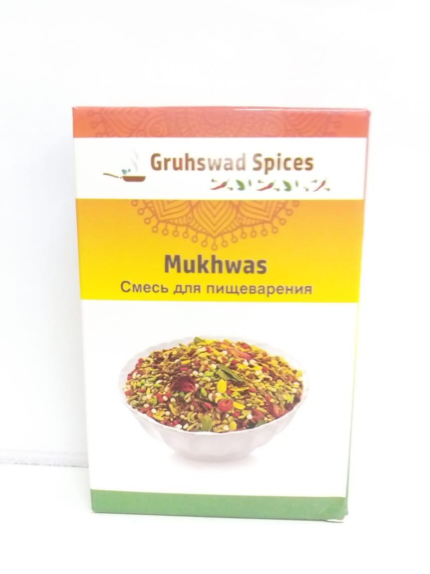 Мукавас, смесь для пищеварения, 100 гр, Gruhswad Spices