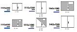 Одиночные шкафы из полиэстера (свободностоящие) IP 44, 54, фото 7