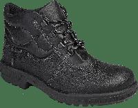 Ботинки комбинированные юфтевые с металлическим подноском