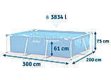 Каркасный бассейн Intex 28272 (габариты: 300*200*75 см, на 3834 л), фото 2