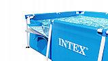 Каркасный бассейн Intex 28272 (габариты: 300*200*75 см, на 3834 л), фото 4