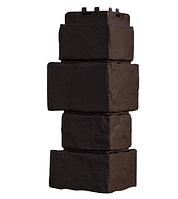 Угол наружный Коричневый 170х415 мм Крупный камень,серия Стандарт (моноцвет) Grand Line