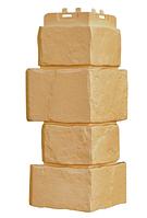Угол наружный Песочный 170х415 мм Крупный камень,серия Стандарт (моноцвет) Grand Line