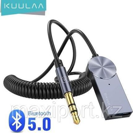 KUULAA фирменный Aux Bluetooth адаптер для автомобиля 5,0 музыкальный передатчик, фото 2