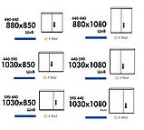 Комбинированные шкафы DB из полиэстера (свободностоящие) IP44, фото 6