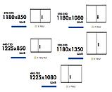Комбинированные шкафы DB из полиэстера (свободностоящие) IP44, фото 8