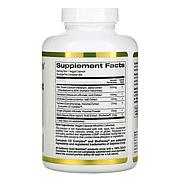 California Gold Nutrition, силимариновый комплекс, для здоровья печени, расторопша, куркумин, артишок, одуванч, фото 2