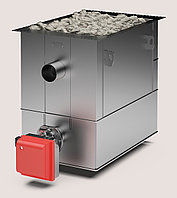 Печь-каменка (до 70 м3) газовая КомПАР 55, (без горелки)