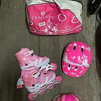 Ролики полный комплект розовый