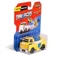 Flip Cars Машинка-трансформер 2 в 1 Бетономешалка и Траншеекопатель