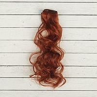 Волосы - тресс для кукол «Кудри» длина волос: 40 см, ширина:50 см, №13
