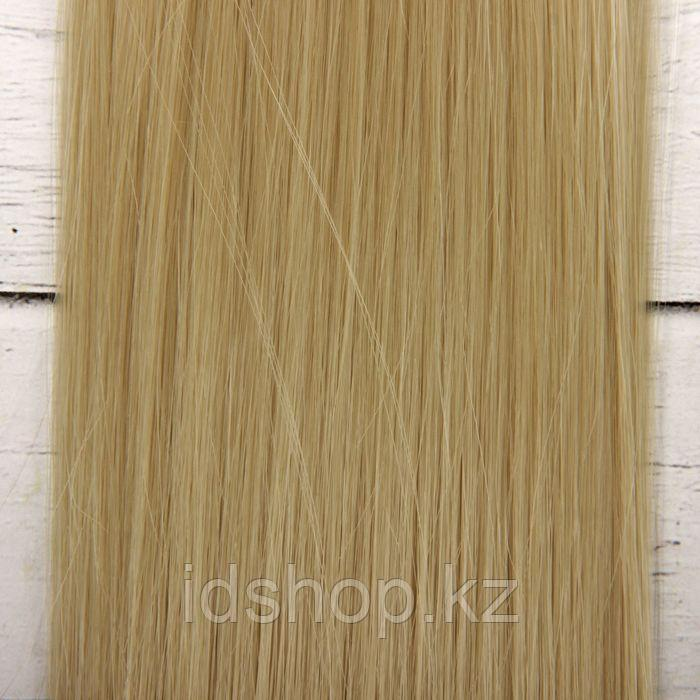 Волосы - тресс для кукол «Прямые» длина волос: 25 см, ширина: 100 см, цвет № 88 - фото 3