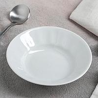 Блюдце Добрушский фарфоровый завод«Бельё», 100 мл, d=11 см, цвет белый