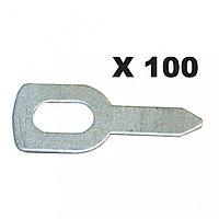 GYS 050648 кольца для вытягивания (100 шт.)