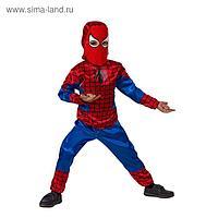 Карнавальный костюм «Человек-паук», текстиль, размер 26, рост 104 см