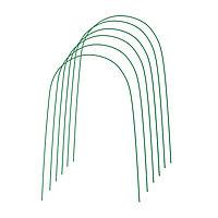 Комплект дуг для парника, металл в кембрике 4 м, d = 10 мм, набор 6 шт.