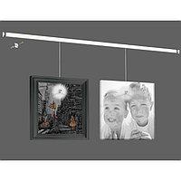 """Система для подвеса картин ArtiTeq: настенный рельс """"Клик"""" 400 см нагрузка 30 кг/м (возможна покраск ..."""