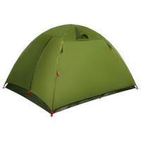 Палатка туристическая DAKOTA 3, размер 210 х 205 х 130 см, 3-местная, двухслойная