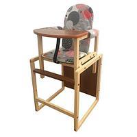 СЕНС-М Стул-стол для кормления БУТУЗ плюс Диско серый, фото 1