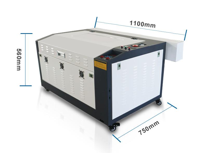 Лазерный станок AL60*40cm M2 50W (МЕТАЛЛИЧЕСКИЕ НАПРАВЛЯЮЩИЕ)
