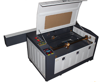 Лазерный станок AL60*40cm M2 60W (МЕТАЛЛИЧЕСКИЕ НАПРАВЛЯЮЩИЕ)