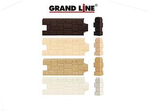 Фасадные панели Крупный камень, серия Стандарт (моноцвет) Grand Line