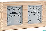 Термометр-гигрометр Maestro Woods MW-084 (сосна) горизонтальный, фото 2