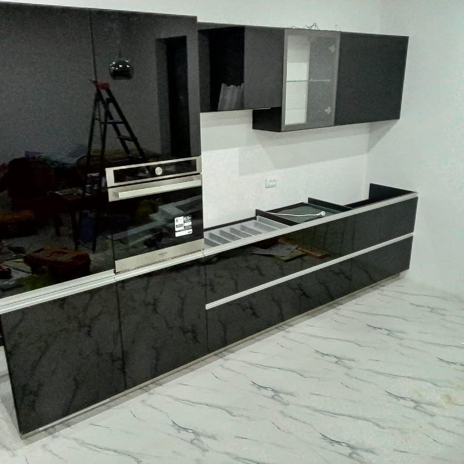 Кухонный гарнитур из Акрила (глянец)