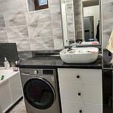 Шкаф для ванной комнаты МДФ крашенный, фото 3
