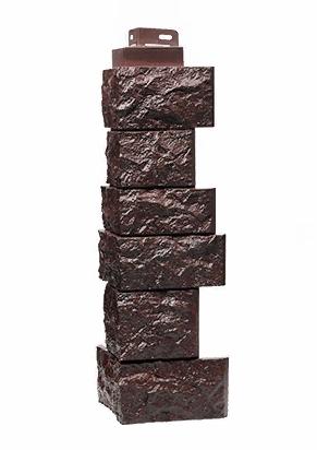 Угол Наружный Коричневый 485 мм Дикий камень FINEBER