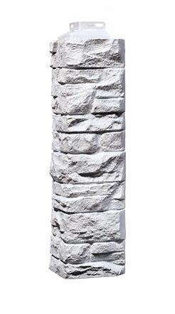 Угол наружный Белый  471х115х155  мм Скала FINEBER