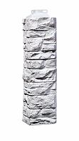 Угол наружный Мелованный белый  471х115х155 мм Скала FINEBER